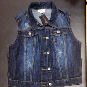 Silver icing vest new